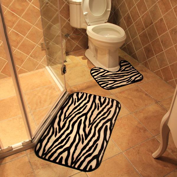 Badkamer Matten Zebra 2 Stuks kopen? I MyXlshop (Tip) – Grandado